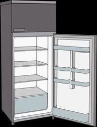 Die unteren Kühlschrankfächer sind kälter.