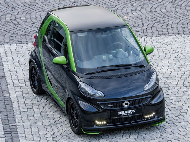 Smart Fortwo ed in der Modellvariante Smart Brabus