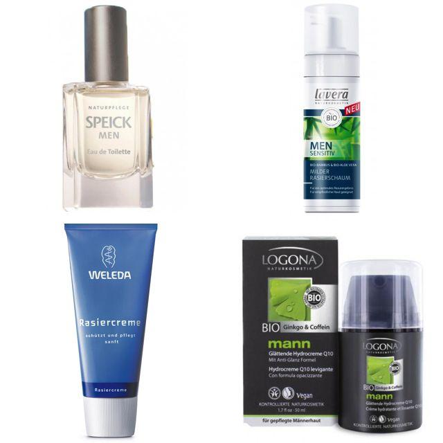 Speick, Lavera, Weleda und Logona – diese zertifizierten Hersteller bieten auch Naturkosmetik für Männer.