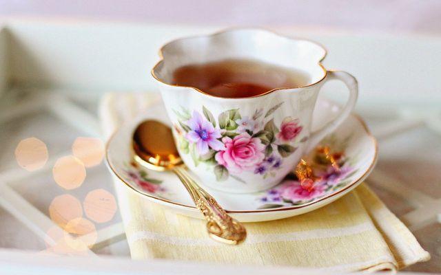 apple skins tea