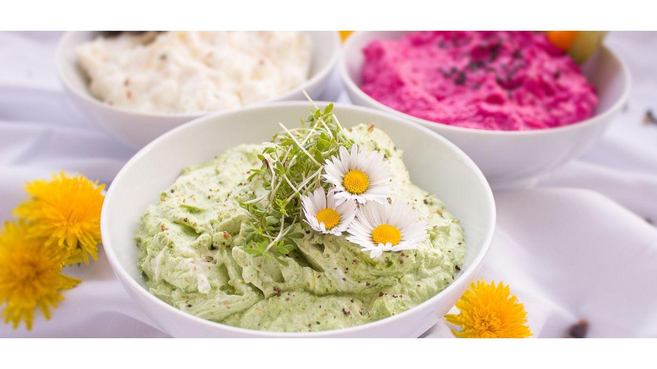 Vegane Dips Leckere Rezepte mit wenigen Zutaten