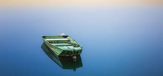 Peaceful Boat Lake