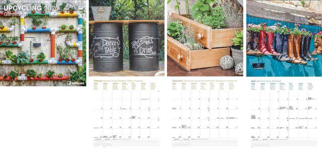 Kalender 2020: Upcycling Gardening