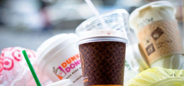 Kaffeebecher Müll Coffee to go