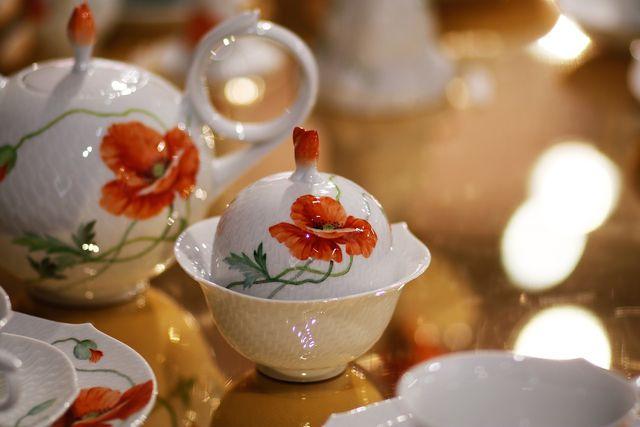 Zu schade zum Entsorgen: Manches Porzellan ist besonders fein und wertvoll