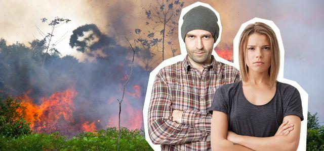 Australien Amazon Brände