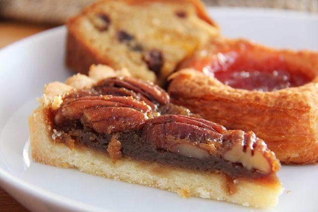 Pecan-Pie ist ein klassischer und einfacher Kuchen aus den USA.