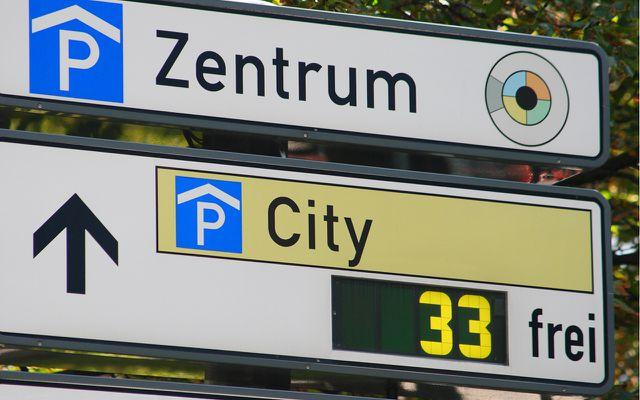 Parkplatzsuche: Digital vs. analog