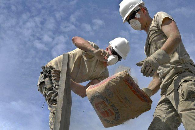 Beton ist wegen des Zements ein Klimakiller