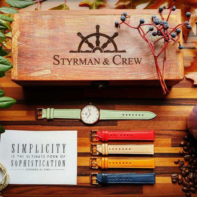 Nachhaltige Uhren von Styrman & Crew