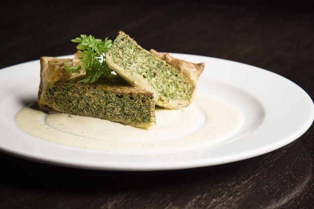 Deine Wirsing-Quiche schmeckt auch vegan hervorragend.